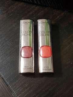 LOreal Riche 唇膏