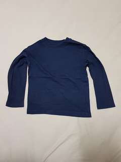 Kid's 4T The Children's Place Dark Blue Long Sleeve T-shirt, Kid's Clothes