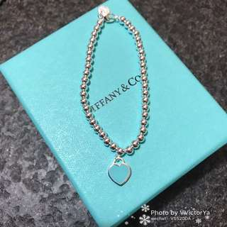 ( In stock ) heart tag bracelet