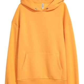 Yellow H&M Hoodie