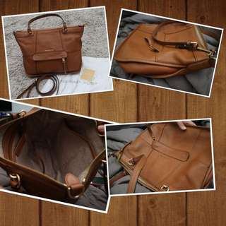 Authentic MK leather