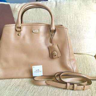 New 100% Authentic Coach Bag - Crossgrain Small Margot Carryall
