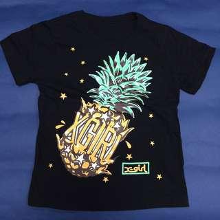 X-GIRL 菠蘿 TEE (童裝)