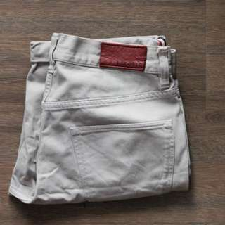 Lacoste Red denim shorts (Grey)