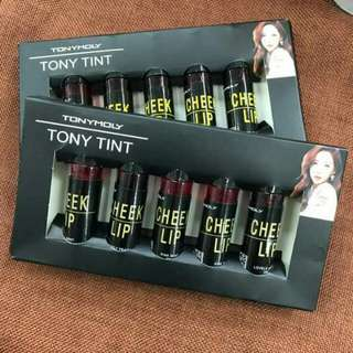 Tony Moly Cheek and Lip tint