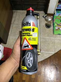 Tire inflation bottle
