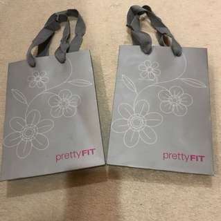 Pretty Feet paperbag