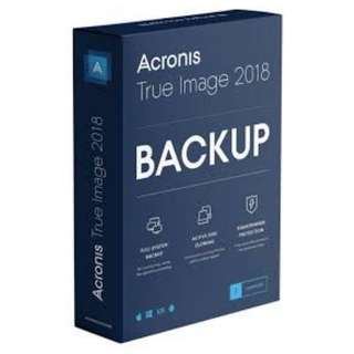 Acronis True Image 2018 Premium with 5TB cloud space and 10 yrs Validity