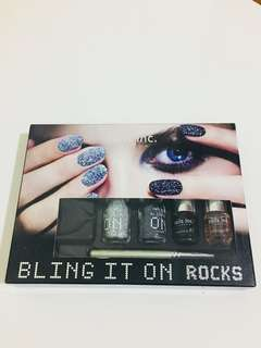 (Brand New) Nails Inc. Bling It On Rocks collection