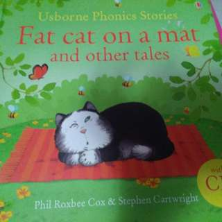 Usborne  Phonics stories with CD (12 stories in 1 book)