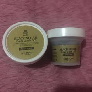SKINFOOD Black Sugar Mask Washoff