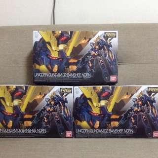 Ready stock - RG Unicorn Gundam 02 - Banshee Norn