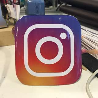 Instagram Stickers for laptops luggage cases