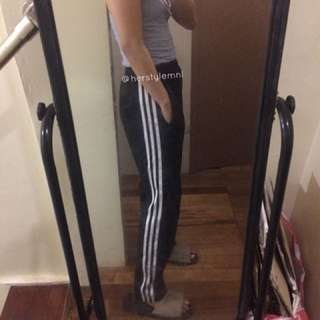 Track Pants - 3 White Lines