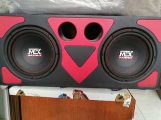 MTX Subwoofer Twin like new