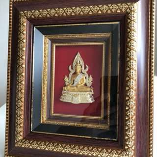 Blessed 3D Phra Chinnaraj Photo Frame