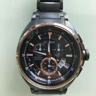 Citizen Attesa Eco-Drive 光動能電波時計錶