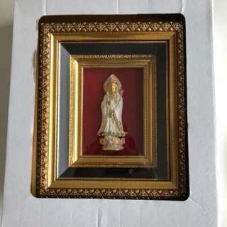 Blessed 3D Guanyin Photo Frame