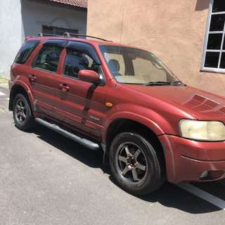 Ford escape 2.0. Reg 2003