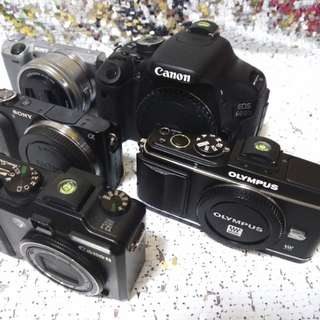 Camera body canon | sony | olympus