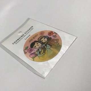 韓國artbox 貼紙 (閃圖)