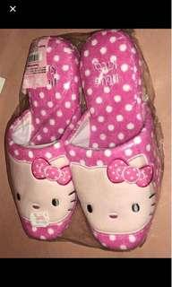Sanrio hello kitty polka dots slippers