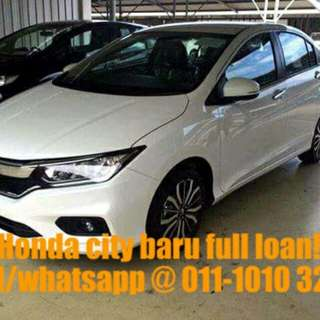 Honda baru full loan kedah penang