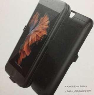 二手 iPhone 6/S 背板充電 (用不足10次)