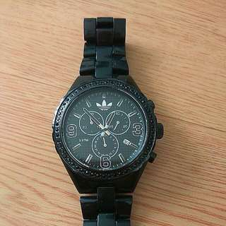 AUTHENTIC Adidas Cambridge Chronograph Black Polycarbonate Unisex Watch