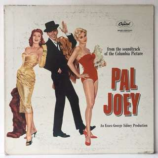 Frank Sinatra, Rita Hayworth, Kim Novak ‎– Pal Joey (1957 USA Original - Vinyl is Excellent)