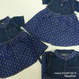 Dress denim zara kids