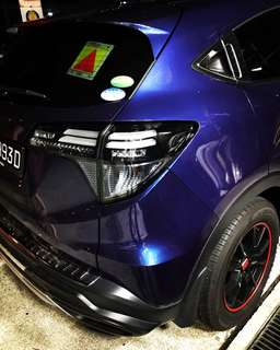 Honda Vezel Smoked Tailight