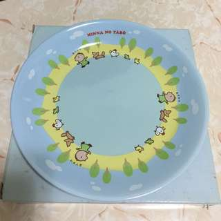 Sanrio Minna No Tabo Dishes in small size 大口仔細餐碟(Brand new 全新)