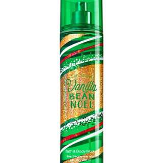 Bath & Body Works Vanilla Bean Noel Body Mist