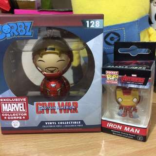 Dorbz and pocket pop IRON MAN(Set)