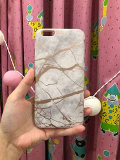 Marble case IPHONE 6+