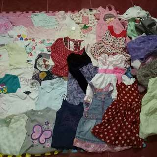 Andrea's Pre-loved clothes TAKE-ALL 60 PCS.