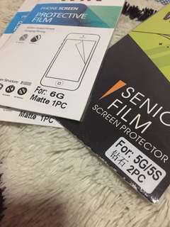 Screen Protector Iphone6/5 matte/clear
