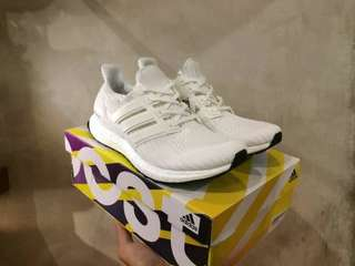 (Best Seller) Adidas Ultra Boost 4.0 Triple White