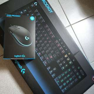 Logitech keyboard and mouse brand new