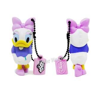 (包郵)🇰🇷Disney Daisy Duck 3D Figure USB 16GB 黛絲立體公仔記憶棒/手指