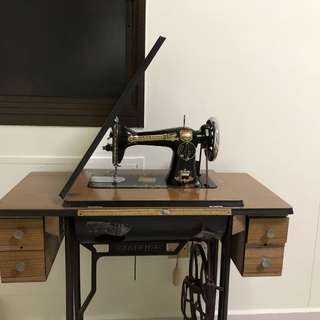 Antique Ranleigh Sewing Machine