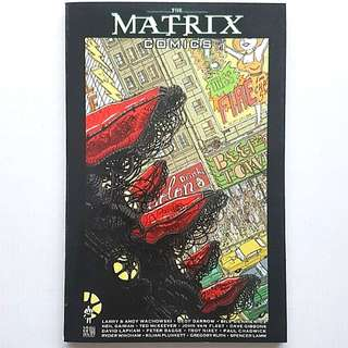 The Matrix Comics TPB First Print Neil Gaiman  Geoff Darrow
