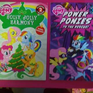My little pony readers 2 books for $4