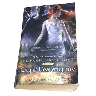 The Mortal Instruments Book Six (City of Heavenly Fire)