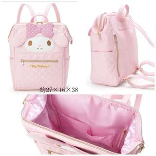 [Ready Stock] My Melody Backpack | PU Leather