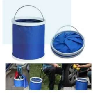 Collapsible Portable Water Bucket Container car wash fishing etc