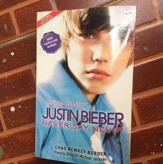Justin bieber 'inspiring true story' never say never