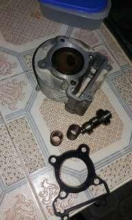 Stock block,cam,valve spring