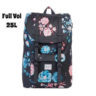 [INSTOCK] HERSCHEL SUPPLY LITTLE AMERICA FULL VOLUME (PASTEL PETALS)